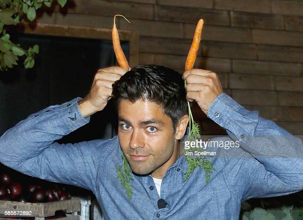 Actor Adrian Grenier attends the #DrinkGoodDoGood launch at Refinery Rooftop on August 3 2016 in New York City