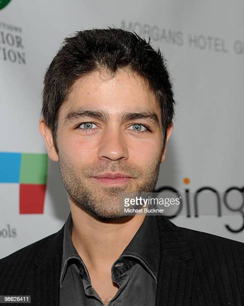 Actor Adrian Grenier attends the Earth Day celebration and screening of Avatar benefitting the Partnership for Los Angeles Schools at Nokia Theatre...