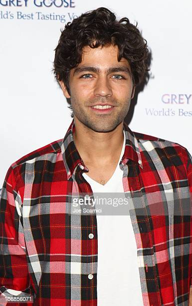 Actor Adrian Grenier attends the GREY GOOSE lounge series hosted by Adrian Grenier during Super Bowl weekend at the GREY GOOSE Lounge on February 5,...