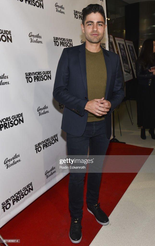 Premiere Of Gravitas Pictures' 'Survivors Guide To Prison' - Red Carpet : News Photo