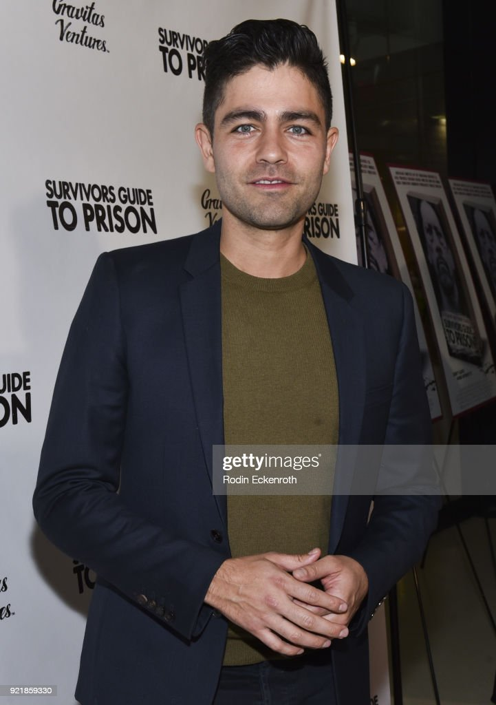 Actor Adrian Grenier attends the premiere of Gravitas Pictures' 'Survivors Guide To Prison' at The Landmark on February 20, 2018 in Los Angeles, California.