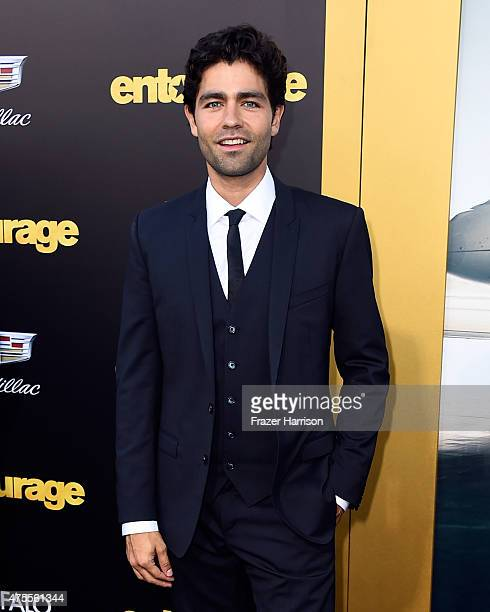 Actor Adrian Grenier attends the premiere of Warner Bros Pictures' 'Entourage' at Regency Village Theatre on June 1 2015 in Westwood California