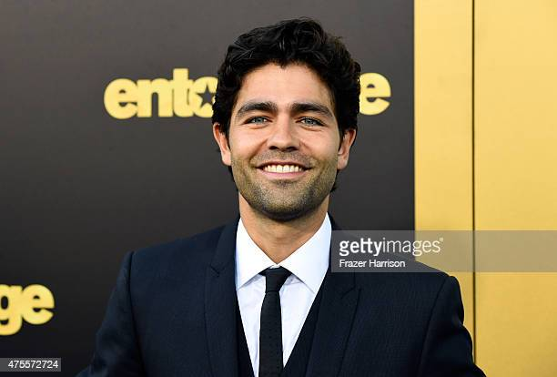 "Actor Adrian Grenier attends the premiere of Warner Bros. Pictures' ""Entourage"" at Regency Village Theatre on June 1, 2015 in Westwood, California."