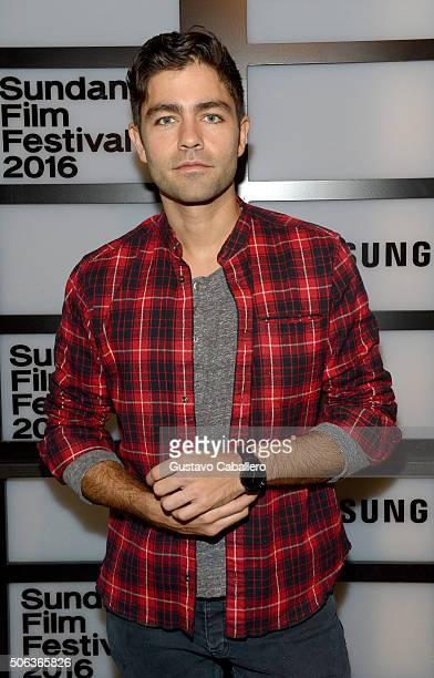 Actor Adrian Grenier attends The Samsung Studio At Sundance Festival 2016 on January 22 2016 in Park City Utah