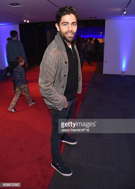 Actor Adrian Grenier attends the Vanity Fair Super Bowl Party hosted by Graydon Carter Jon Bon Jovi Honors Super Bowl 50 Host Committee 50 Fund...