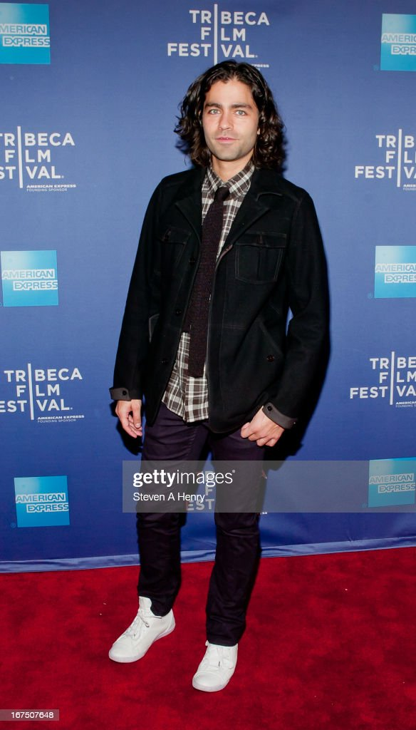 Actor Adrian Grenier attends Tribeca Talks: After the Movie 'How to Make Money Selling Drugs' during the 2013 Tribeca Film Festival at SVA Theater on April 25, 2013 in New York City.