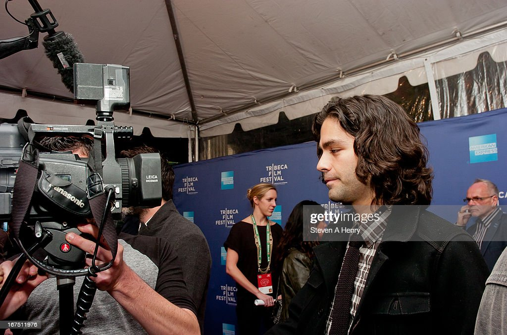 Actor Adrian Grenier is interviewed at the Tribeca Talks: After the Movie 'How to Make Money Selling Drugs' during the 2013 Tribeca Film Festival at SVA Theater on April 25, 2013 in New York City.