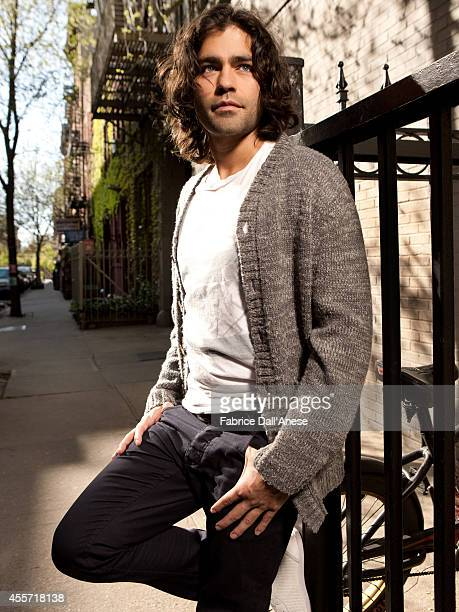 Actor Adrian Grenier is photographed for Self Assignment in New York City.