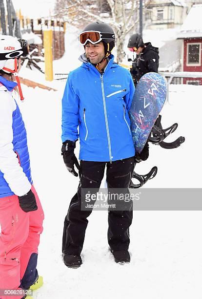 Actor Adrian Grenier is seen during the Sundance Film Festival on January 24 2016 in Park City Utah