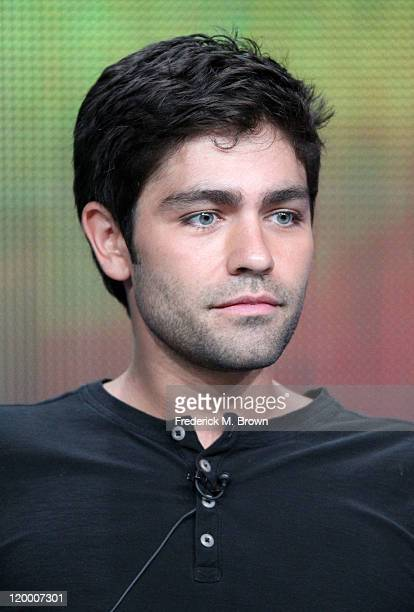 Actor Adrian Grenier speaks during the 'Entourage' panel during the HBO portion of the 2011 Summer TCA Tour held at the Beverly Hilton on July 28...