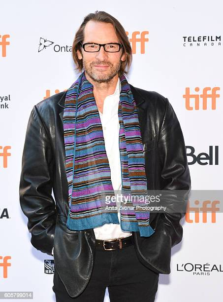 Actor Adrian Hough attends the Assignment premiere during 2016 Toronto International Film Festival at Ryerson Theatre on September 14 2016 in Toronto...