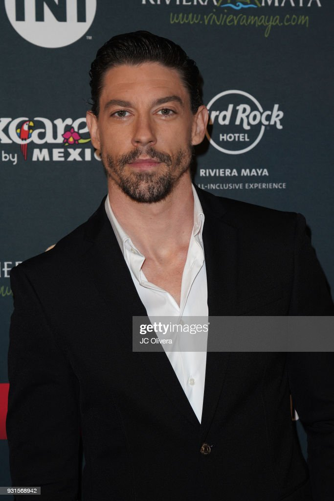 Actor Adrian Lastra attends the 5th Annual Premios PLATINO Of Iberoamerican Cinema Nominations Announcement at Hollywood Roosevelt Hotel on March 13, 2018 in Hollywood, California.