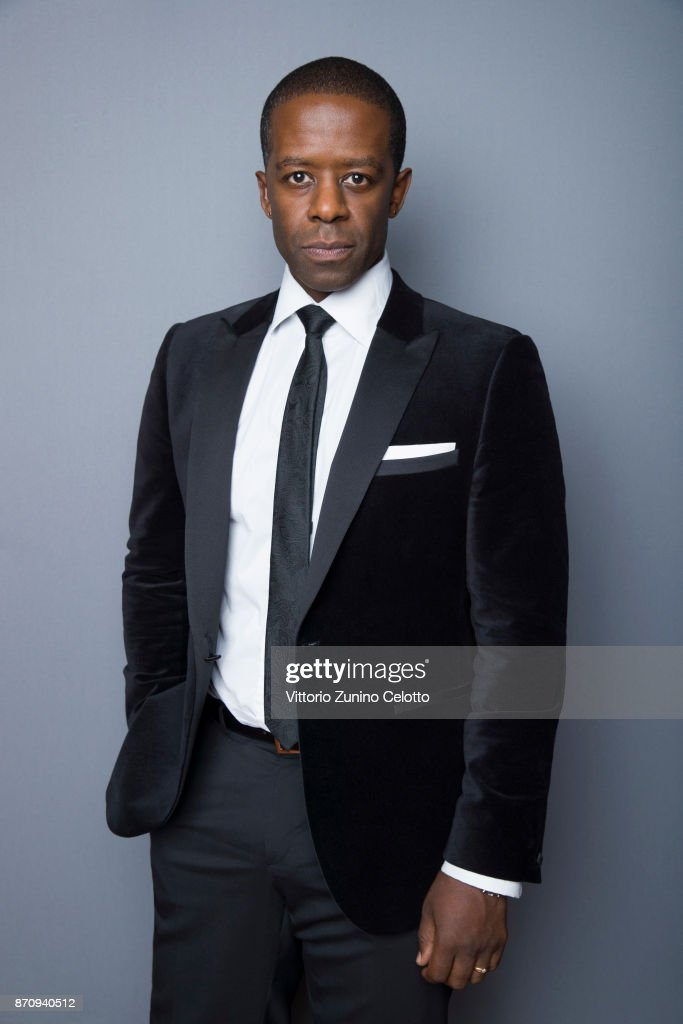 Actor Adrian Lester is photographed during the 61st BFI London Film Festival on October 14, 2017 in London, England.