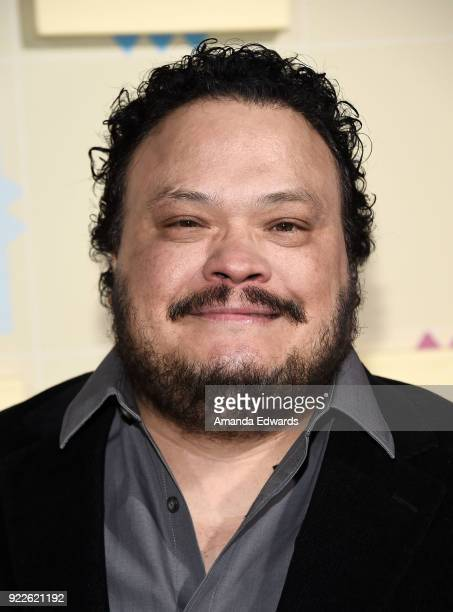 Actor Adrian Martinez arrives at New Line Cinema and Warner Bros Pictures' 'Game Night' Premiere at the TCL Chinese Theatre on February 21 2018 in...
