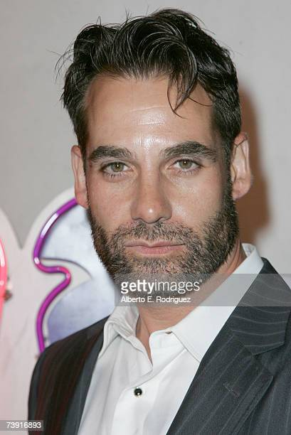 Actor Adrian Pasdar arrives at the celebration for the wrap of season one for NBC's 'Heroes' on April 17 2007 in Los Angeles California
