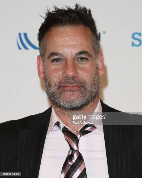 Actor Adrian Pasdar attends the18th Annual Discovery Award dinner at the Skirball Cultural Center on November 7 2018 in Los Angeles California