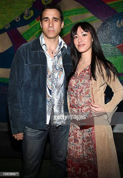 Actor Adrian Paul and Alexandra Tonelli arrive at Paper Magazine's 12th Annual Beautiful People Party at MyHouse on April 15 2009 in Hollywood...