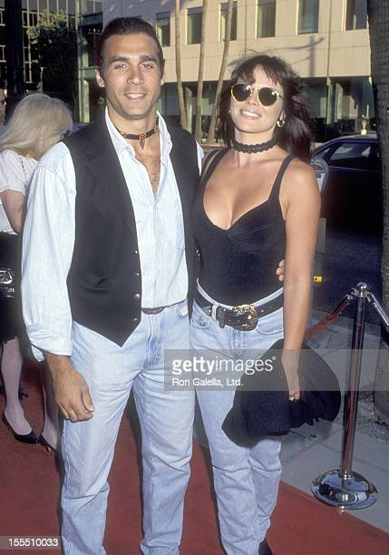 Actor Adrian Paul and wife Meilani Paul attend the City Slickers II The Legend of Curly's Gold Beverly Hills Premiere on June 8 1994 at Academy...