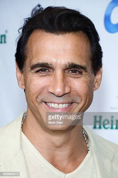Actor Adrian Paul arrives at OK TV Emmy preawards party honoring the Emmy nominees and presenters at Sofitel Hotel on August 21 2014 in Los Angeles...