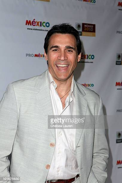 Actor Adrian Paul arrives at the Mexican Consul General's reception honoring the motion picture industry on June 3 2010 in Los Angeles California