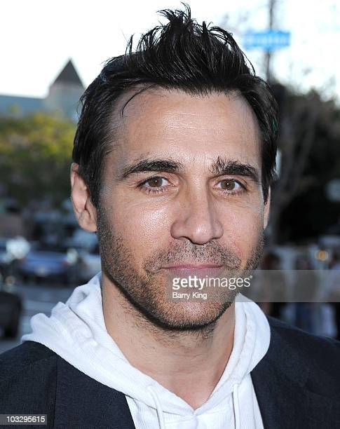 Actor Adrian Paul arrives at the premiere of Mutant Chronicles at the Mann Bruin Theatre on April 21 2009 in Los Angeles California