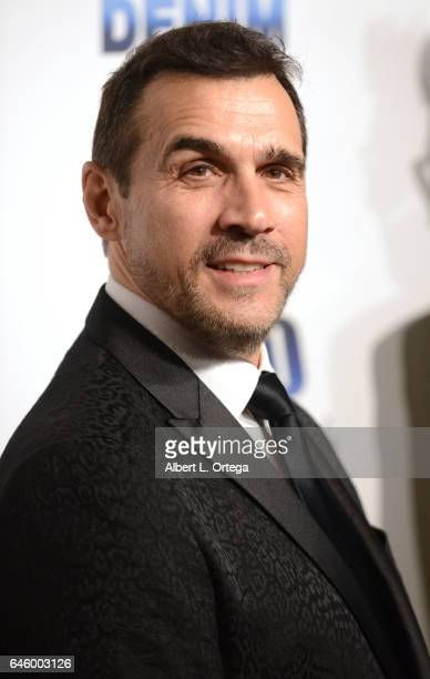 Actor Adrian Paul arrives for the Norby Walters' 27th Annual Night Of 100 Stars Black Tie Dinner Viewing Gala held at The Beverly Hilton Hotel on...