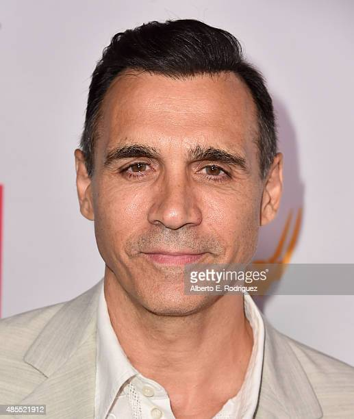 Actor Adrian Paul attends a cocktail party celebrating dynamic and diverse nominees for the 67th Emmy Awards hosted by the Academy of Television Arts...