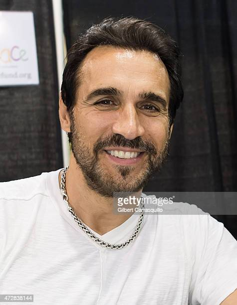 Actor Adrian Paul attends day 3 of Wizard World Comic Con at Pennsylvania Convention Center on May 9 2015 in Philadelphia Pennsylvania