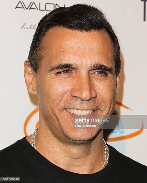 Actor Adrian Paul attends 'Get Lucky For Lupus LA' celebrity poker tournament and party at Avalon on September 16 2015 in Hollywood California