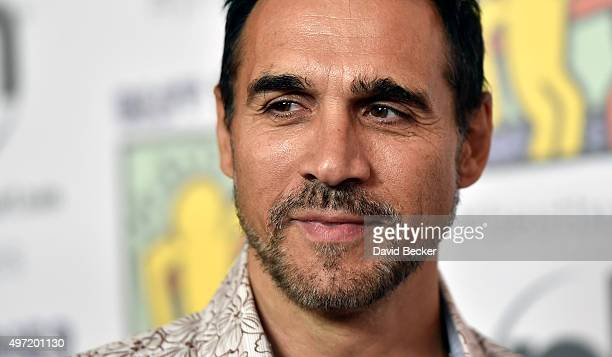 Actor Adrian Paul attends the All In for Best Buddies celebrity poker tournament at Planet Hollywood Resort Casino on November 14 2015 in Las Vegas...