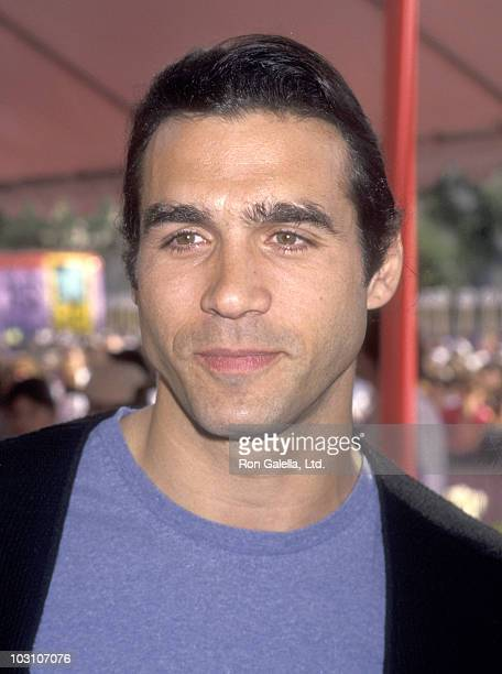 Actor Adrian Paul attends the First Annual Revlon Run/Walk to Benefit Women's Cancer Research on May 7 1994 at 20th Century Fox Studios in Century...