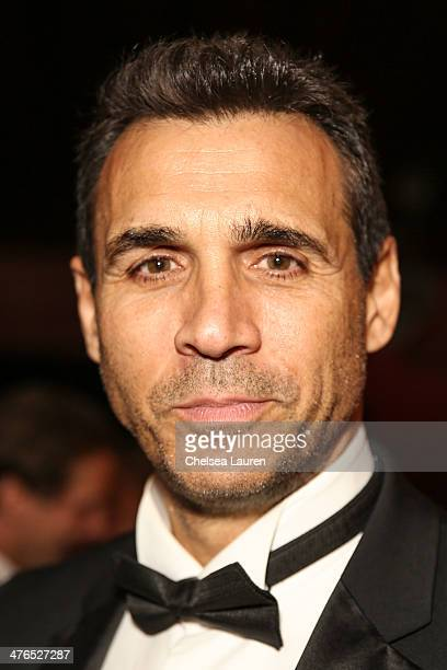 Actor Adrian Paul attends the Hellman Waters 4th annual salute to the stars Oscar event at W Hollywood on March 2 2014 in Hollywood California