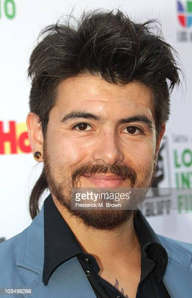 Actor Adrian Salinas attends the Los Angeles Latino International Film Festival opening night gala at Grauman's Chinese Theater on August 19 2010 in...