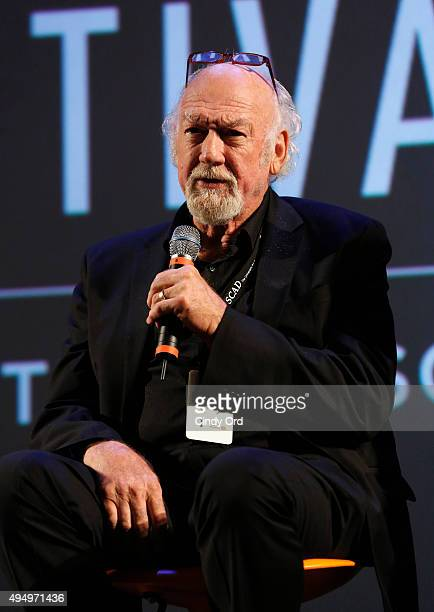 """Actor Adrian Sparks speaks on stage during Q&A for """"Papa"""" at Lucas Theatre during Day Seven of 18th Annual Savannah Film Festival Presented by SCAD..."""