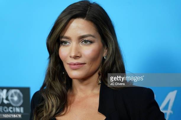 Actor Adriana Fonseca attends the premiere of Pantelion Films' 'Ya Veremos' at Regal Cinemas LA LIVE Stadium 14 on August 27 2018 in Los Angeles...