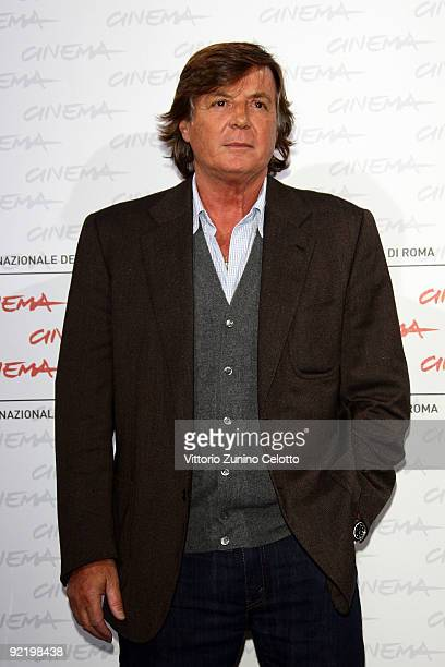 Actor Adriano Panatta attend the 'La Maglietta Rossa' Photocall during Day 8 of the 4th International Rome Film Festival held at the Auditorium Parco...