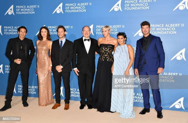 actor Adrien Brody actress Olga Kurylenko entertainer Lior Suchard Monaco's Prince Albert Monaco's Princess Charlène singer Nelly Furtado and singer...