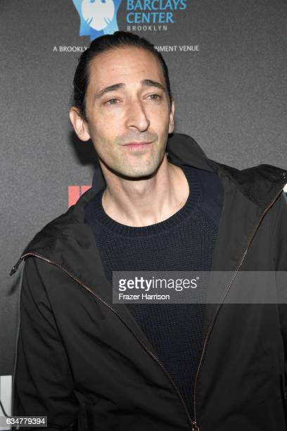 Actor Adrien Brody attends 2017 Roc Nation PreGrammy Brunch at a private residence on February 11 2017 in Los Angeles California