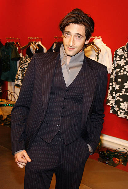 33008a875834 Actor Adrien Brody attends a party hosted by the Miu Miu store to support  the IFP