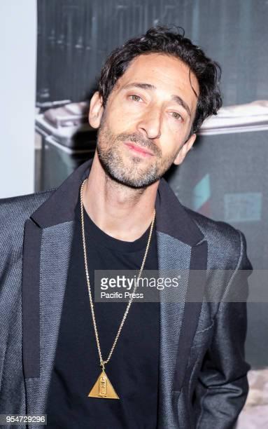 Actor Adrien Brody attends Art New York at Pier 94 Manhattan
