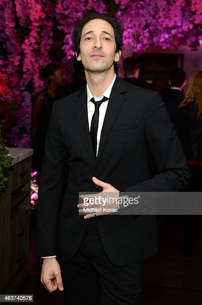Actor Adrien Brody attends BVLGARI and Save The Children STOP. THINK. GIVE. Pre-Oscar Event at Spago on February 17, 2015 in Beverly Hills,...