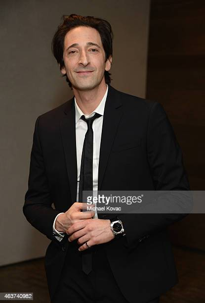 Actor Adrien Brody attends BVLGARI and Save The Children STOP THINK GIVE PreOscar Event at Spago on February 17 2015 in Beverly Hills California