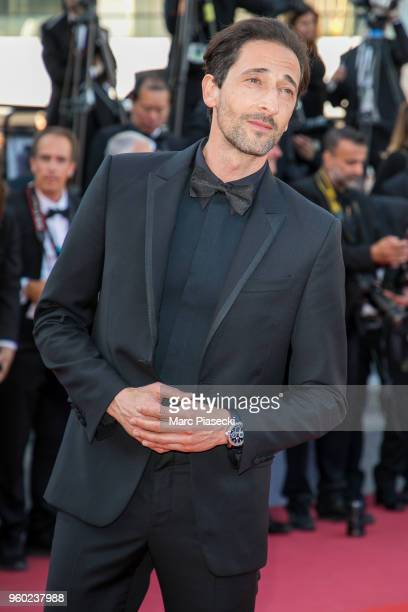 Actor Adrien Brody attends Closing Ceremony screening of The Man Who Killed Don Quixote during the 71st annual Cannes Film Festival at Palais des...
