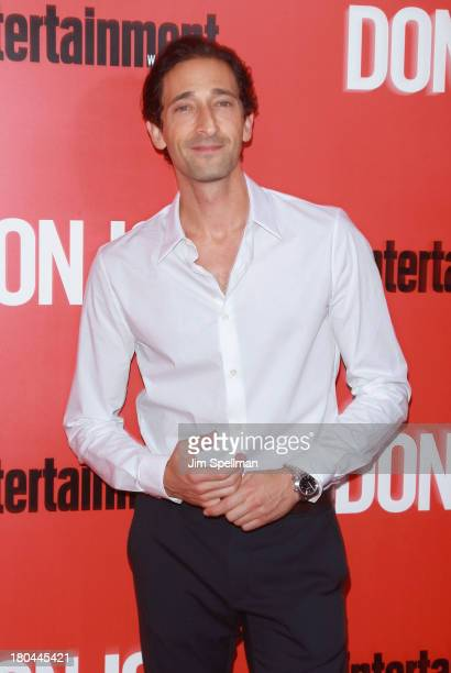 Actor Adrien Brody attends Don Jon New York Premiere at SVA Theater on September 12 2013 in New York City