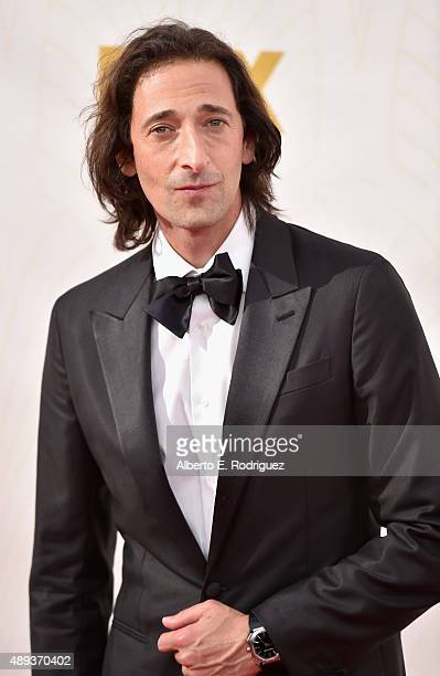 Actor Adrien Brody attends the 67th Emmy Awards at Microsoft Theater on September 20 2015 in Los Angeles California 25720_001