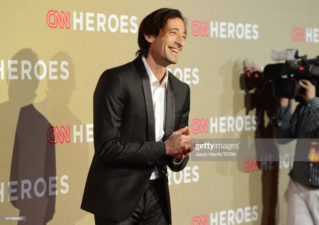 Actor Adrien Brody attends the CNN Heroes: An All Star Tribute at The Shrine Auditorium on December 2, 2012 in Los Angeles, California. 23046_004_JM_1047.JPG