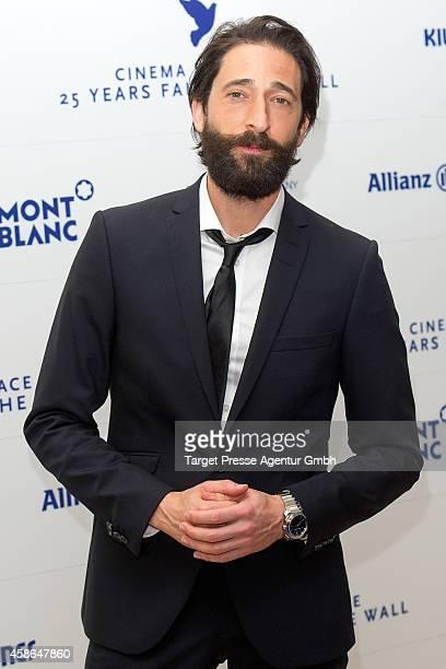 Actor Adrien Brody attends the HEROES Gala Berlin at Hotel Adlon on November 8 2014 in Berlin Germany