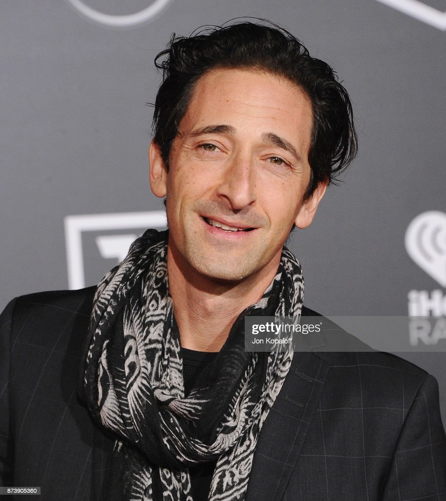 Actor Adrien Brody attends the Los Angeles Premiere of Warner Bros. Pictures' 'Justice League' at Dolby Theatre on November 13, 2017 in Hollywood, California.