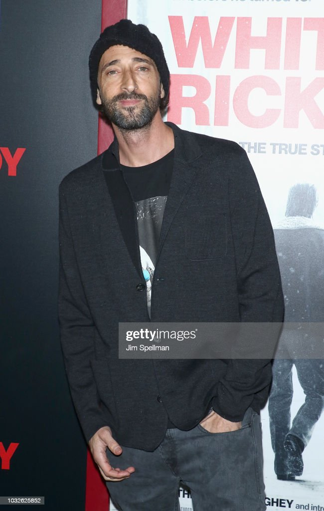 Actor Adrien Brody attends the New York special screening of 'White Boy Rick' hosted by Columbia Pictures and Studio 8 at the Paris Theater on September 12, 2018 in New York City.