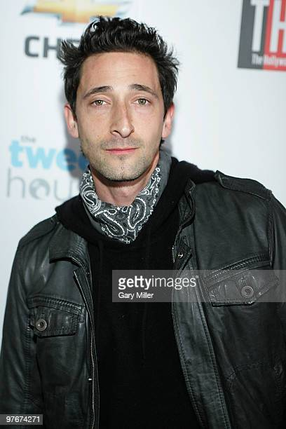 Actor Adrien Brody attends the opening night of SxSW 2010 hosted by The Hollywood Reporter at The Tweet House on March 12 2010 in Austin Texas